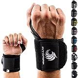 Fitgriff Handgelenk Bandagen [Wrist Wraps] 45 cm Handgelenkbandage für Fitness, Bodybuilding,...