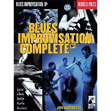 Blues Improvisation Complete B Flat Bflatinst Book/Cd