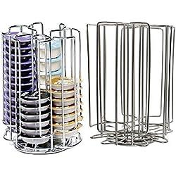 52 rotatif Disque T rangement étagère pour Bosch Tassimo Machine à café Capsule pots à bille (52 Dessous Tour distributeur)