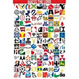 Posters: Brands Poster - Guess The Logo (36 x 24 inches)