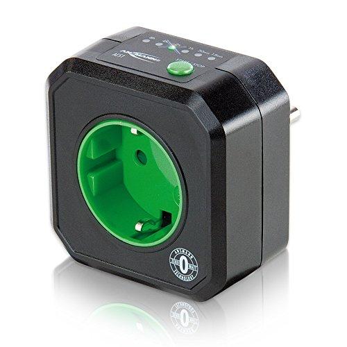 ANSMANN AES1 Timer-Steckdose Zeitschaltuhr energiesparend für Heizlüfter Pumpe Waschmaschine Trockner Bügeleisen Fernseher Beleuchtung