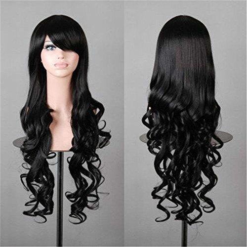 lisci-32-80-cm-lungo-e-morbido-ricci-parrucca-cosplay-capelli-stile-colore-nero-c