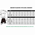Wulibike-Completo-Ciclismo-Uomo-EstivoInvernale-MTB-Maglia-Bici-Maniche-CorteLunga-Salopette-Bici-in-Gel-3D-per-Squadra-Professionale