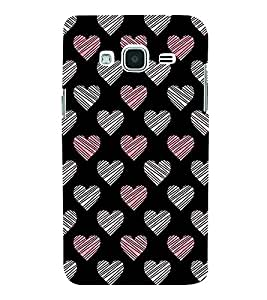 Fabcase Signs for love Designer Back Case Cover for Samsung Galaxy J2 (6) 2016 J210F