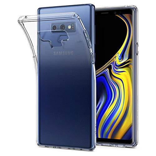 Spigen 599CS24569 Liquid Crystal Kompatibel mit Samsung Galaxy Note 9 Hülle, Transparent TPU Silikon Handyhülle Durchsichtige Schutzhülle Case transparent