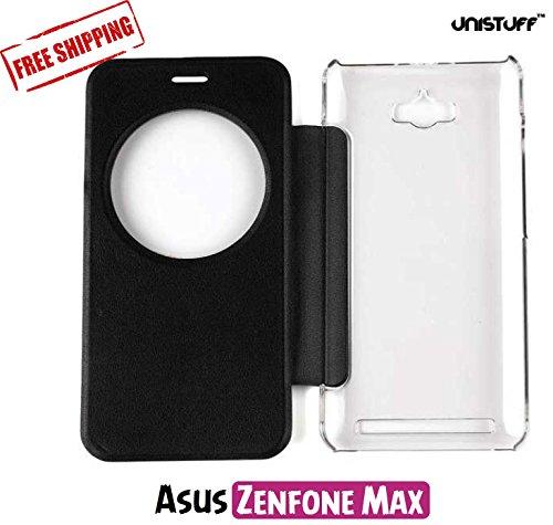 Flip Cover for Asus Zenfone Max (Black)