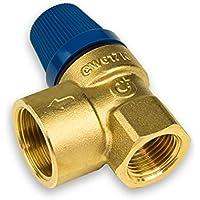 """'Caleffi Membrana Agua Caliente Válvula de seguridad DN15(1/2"""") X DN20(3/4) 8bar 531480"""