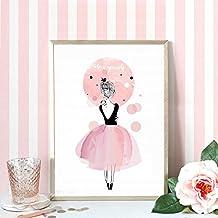 amazonfr decoration chambre fille tableau With affiche chambre bébé avec achat de fleurs en gros pour particulier