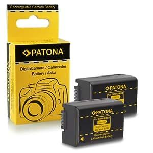 2x Batterie Leica BP-DC9 E | Panasonic DMW-BMB9 E pour Leica V-LUX 2 | V-LUX 3 | Leica 18717 | 18718 | Panasonic Lumix DMC-FZ40 | FZ45 | FZ47 | FZ48 | FZ60 | FZ62 | FZ70 | FZ72 | FZ100 | FZ150