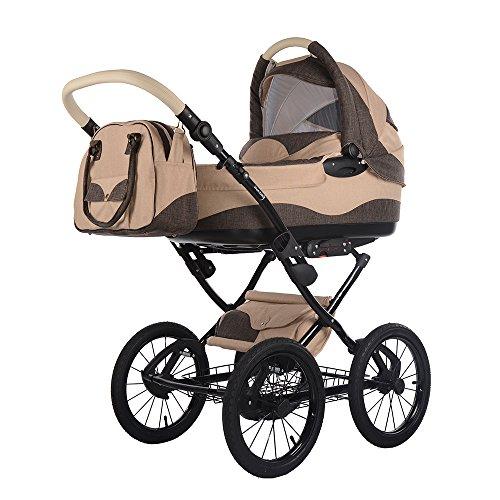 knorr-baby 2050-2 Imperio Kombikinderwagen, sahara - braun