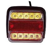LED 3-Kammer-Schlussleuchte, 12 Volt, 2 Stück