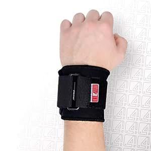 Reh4mat orthèse de poignet stabilisation parfaite pour l'arthrose du handgelenkes &autres sports de raquettes de tennis, le badminton, le squash &de tennis de table-ajustement parfait grâce à une fermeture velcro-&gauche ou droit unisexe
