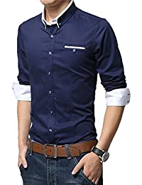 Blue Men's Shirts: Buy Blue Men's Shirts online at best prices in ...