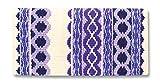 Mayatex Satteldecke Riverland, Cream/Show Purple/Eve Lilac, 36 x 34-Inch