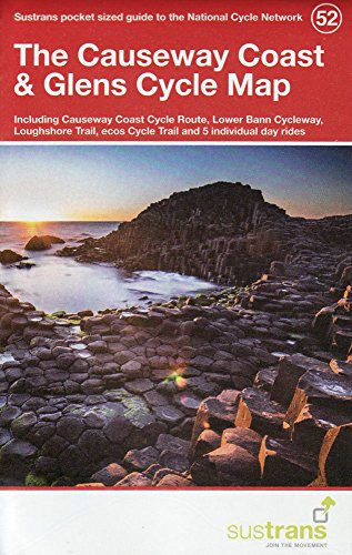 Causeway Coast & Glens Cycle Map 52 (National Cycle Network Maps) por Sustrans