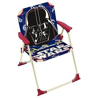 Arditex–009464–Klappstuhl für Kinder–Star Wars Maße–Garten Camping Haus–38x 32x 53cm