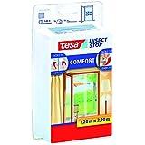Tesa Comfort Maille pour porte 2toiles de 0,65cm x 2,2m, couleur blanche
