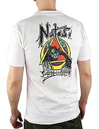 Santa Cruz Natas Evil Cat T-Shirt - White