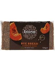 Biona Organic Pumpkin Seed Rye Bread, 500g