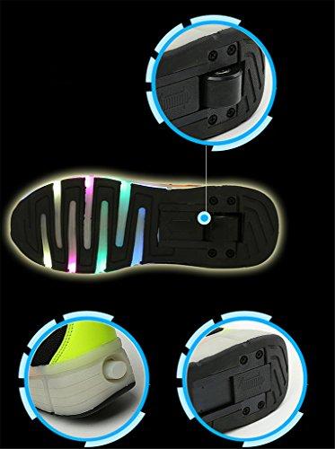 NEWZCERS , Chaussures spécial skateboard pour femme Schwarz