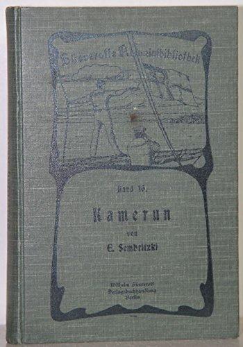 die deutsche karte pdf Free Sembritzki Kamerun (deutsche Kolonie), Süsserott 1908, 260
