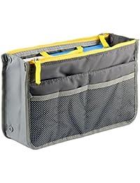 Glive's Multipocket Handbag Organizer , Travel Bag Make Up Organizer Bag Women Men Casual Travel Bag Multi Function...