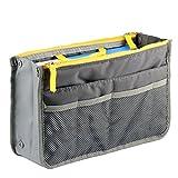 Styleys Grey Handbag Organizer For Easy Handbag Changing