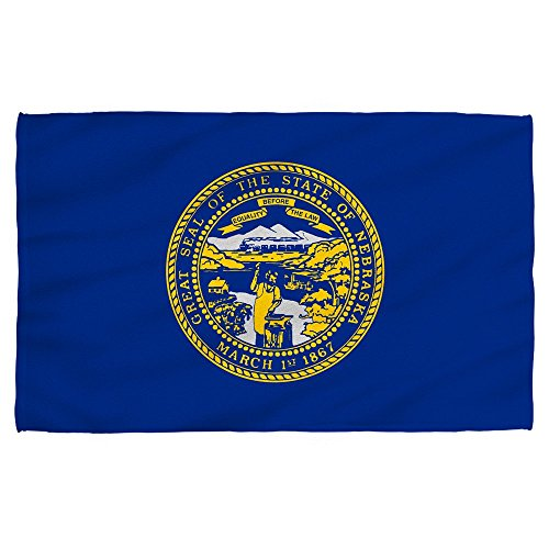 uyruyeue Nebraska State Flag - Beach Towel (31 x 51) -