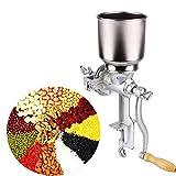 Getreidemühle Getreidequetsche Einstellbare Mahlwerk Mais Weizen Getreide Kaffee Nuss Mühle Brecher aus Gusseisen für Küche zu Hause