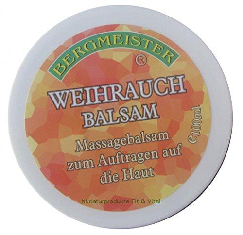 Weihrauch Creme Balsam mit Johanniskrautöl Bachblüten EXTRA STARK mit Boswelia Serrata Weihrauch