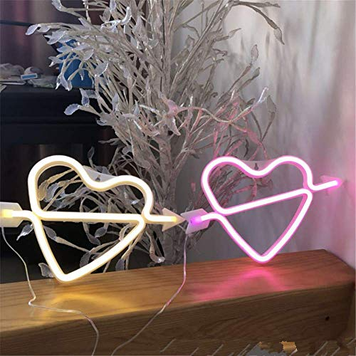 GTNLG Christmas Thanksgiving Halloween LED Styling Lichter Flamingo Neon Letter Light String Vorschlag Geständnis Dekoration Light Night Light,19
