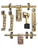 Klaxon Glorious 3 Brass Door Accessories...
