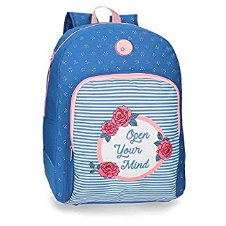 51KdWqBAGPL. SS324  - Mochila escolar 44cm adaptable Roll Road Rose
