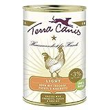 Terra Canis | Huhn Light mit Zucchini, Papaya und Hagebutte | 12 x 400 g