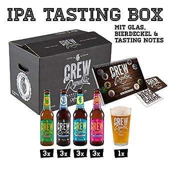 CREW Republic IPA Craft Beer Geschenkbox, Biergeschenk