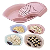 #10: Quoface® New & High Quality Multi-purpose Double Layer Dumpling Tray (ASSORTED COLOURS)