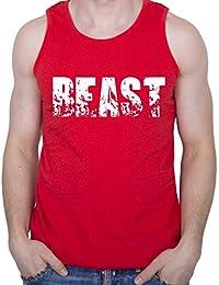 GIOVANI & RICCHI Herren Tank Top Fitness Shirt BEAST in verschiedenen Farben