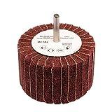 Fächerschleifer Ø 80 mm Schleifmop mit Schaft Korn 200 Schleifer