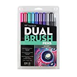 Best Art Markers - Tombow Dual Brush Pen Art Markers 10-Pack, Galaxy Review