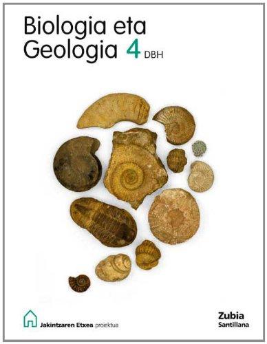 Biología Eta Geología 4 Dbh Jakintzaren Etxea Euskera Zubia