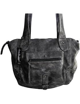 Jennifer Jones schöne modische elegante Damen Schultertasche Handtasche Umhängetasche - präsentiert von ZMOKA®...