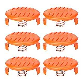 6 mower replacement spool and spring for AFS trimmer spool cover