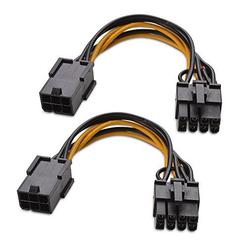Cable Matters Paquete 2 Cable alimentación Adaptador