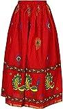 Roshniiks Nyraa Women Jaipuri Peacock Print Skirt…