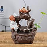 W&P wp Räucherstäbchen Halter Weihrauch-Brenner Weihnachten Geschenke Lotus Flow Rückfluss Gasofen Blumen Aromatherapie Weihrauch Ofen kreative Dekoration