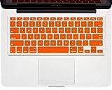 #8: ShopAIS MacBook keyboard skin for MacBook Pro 13/15/17 Inch - Orange