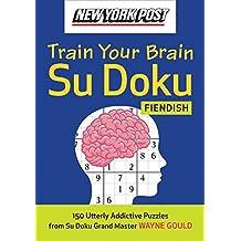 New York Post Train Your Brain Su Doku: Fiendish