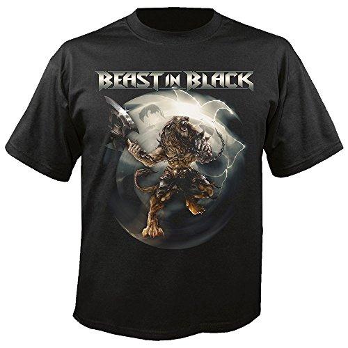 BEAST IN BLACK - Berserker - T-Shirt Größe XL (Black Beast Shirt)