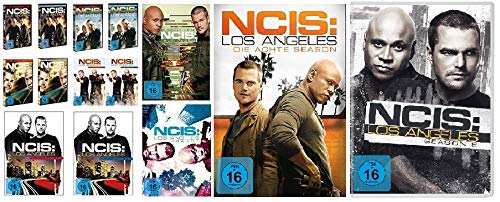 Navy CIS / NCIS: Los Angeles - komplette Season 1-9 (1.1 - 5.2 + 6 + 7 + 8 + 9) im Set - Deutsche Originalware [54 DVDs] - Staffel 4 Ncis La
