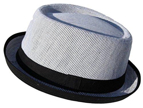 Rude Boy / Ska Two Tone Pork cotton pork pie Hat - Size S